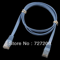 Wholesale New M FT CAT6 UTP CAT Flat Ethernet Network Cable RJ45 Patch LAN Cord