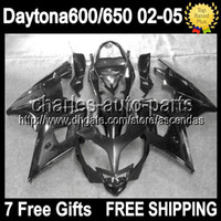 7gifts For Triumph Daytona 600 650 02- 05 ALL Black Daytona 6...