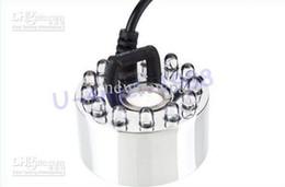 Wholesale LED Ultrasonic Mist Maker Fogger Water Fountain Pond led black
