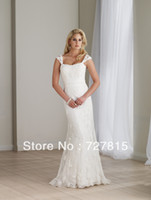 Cheap New Arrival Grecian Style Wedding Dresses Lace Elegant A Line DW194
