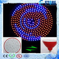 Wholesale grow led e27 garden light SMD led chips W LED Plant Grow Lights RED BLUE Hydroponics For Plants wu