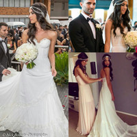 Gothic Backless Wedding Gowns Bridal Ball Gowns 2014 Chiffon...