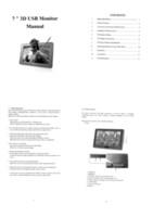 Wholesale 7 USB Naked Eye D Monitor D display