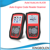 Wholesale 2014 New Arrival Autel Autolink AL439 Auto MultiMeter AVOMeter Scanner Color Screen OBDII Diagnostic Engine Code Scanner al