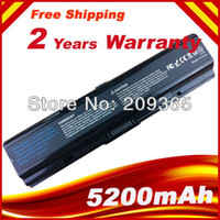 Wholesale 5200mAh Laptop battery For Toshiba PA3534U BRS PA3533U BRS Satellite A200 A205 A210 A215 A300 L300