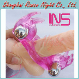 Wholesale Double Cock Ring Penis Rings Rabbit Vibration Ring Sex Toys