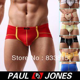 Wholesale Sexy Men Smooth Underwear Mini Boxer briefs Size S L CL5227