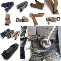Wholesale Hot Sale Militaria Survival Tactical Belt Waist Strap Fire Rescue Hunting Camping CQB Rigger Adjustable Colors Mix Choose DDE