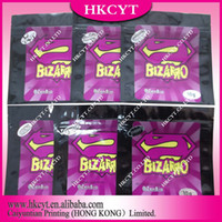 Wholesale Colorful bizarro zenbio herbal incense bag aluminum foil potpourri bag