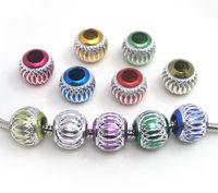 Wholesale 9x14mm big hole European beads fit snake bracelet DIY