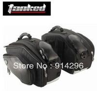 Wholesale 2pcs Genuine TB08 TANK motorcycle waterproof saddlebag saddle bag backpack can put full face helmet