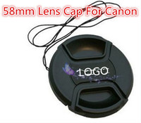Wholesale mm mm Lens Cap And Anti lost Rope For Canon mm D D D D D Factory Price