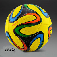 Wholesale World Cup Brazil the Champions League the th regular football yellow soccer ball