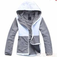 Hooded sports jackets - New Women s Spring Outwear Fleece Jackets Sport Suit Hoodies Clothing