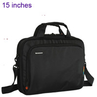 Wholesale 15 inches thick fabric notebook PC laptop carring case shoulder bag handbag computer bag