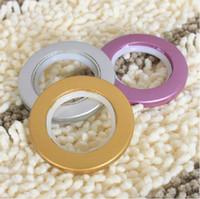 Wholesale Hanging Rome circle window curtain eyelet ring style inner diamter cm cm