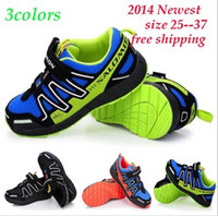Wholesale 2014 Salomon Child Sport Shoes Boys and Girls Sneakers Casual Athletic Shoes Children s Running Shoes for Kids