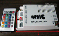 Cheap Wholesale - 60W Music IR controller ,12V ,5A,60W ,For RGB led strip or RGB led spot light