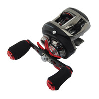 Wholesale BX1000L Left Handed and BX1000 Right Handed Baitcasting Fishing Reel BBs Ultralight Aluminum Spool Trolling Fishing Reels
