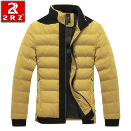 Wholesale Factory direct men s short winter coat collar men s cotton padded cotton