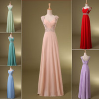 Free Shipping Under $100 Crystal Blue Coral Red Formal Long ...