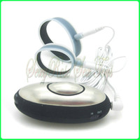 Wholesale Electric shock double penis ring pulsed electron cock rings Male flat ring massager