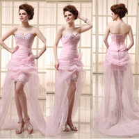 Backless Sweetheart Beads Evening Gowns Under $100 Crystal F...