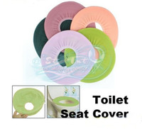 Yes Eco-Friendly,Stocked H0170 Bathroom Warmer Toilet Washable Cloth Seat Cover Pad Toilet lid sets