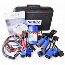 Wholesale 2015 best price professional auto scan tool NEXIQ USB Link Software Diesel Truck Diagnostic Tool Nexiq USB Link