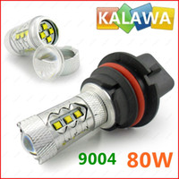 Wholesale 1 pair W K white EPISTAR chipset fog light high power led lamp FFF FREESHIPPING