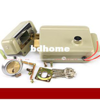 Wholesale Security products V opened by keys electronically and manually electric lock and rim door lock for gate