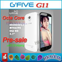 Pre Sale G FIVE G11 Octa Core Phone MTK6592 1. 7GHZ 4G ROM 1G...