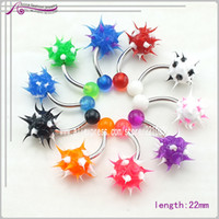 Belly Chains Body Jewelry Fashion Free shipping,2013Wholesale Bulk 40pcs lots Body Piercing Eyebrow Jewellery Belly Tongue Bar Ring dq0168