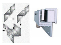 Wholesale ZL Bracket Use With kg Electronic Magnetic Lock For Narrow Door Access Control System