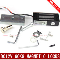 Wholesale mini electric magnetic door lock kg V Cabinet door lock