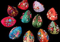 Wholesale Jewelry Locket Box For Floating Locket embroider Brocade Handmade Jewelry Bag cm LLB02