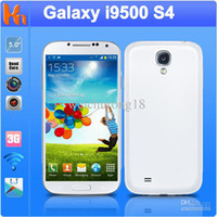 Wholesale GT I9505 S4 I9500 SC6820 single core Android phone inch Screen Android4 N9500 dual Camera e2 e7 e8 e9 ee1