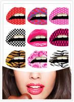 Wholesale Hi Quality Fashion Popular Temporary Lip Tattoo Sticker Transfer StickerTattoos