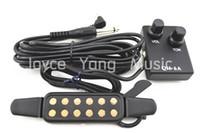 al por mayor pickups-Guitarra acústica Pick Up Wire Amplificador Altavoz + Volumen / Control de tonos Pastillas