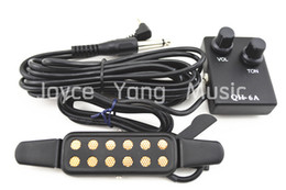 Wholesale Acoustic Guitar Pick up Wire Amplifier Speaker Volume Tone Control Pickups