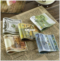 Wholesale Cute Money Door Stopper pc Dollar Door Stop Creative Cash Bill Style PVC Japanese Yen Euro US Style Home Decorative Doorstop