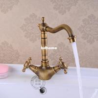 Wholesale B amp R faucets antique bronze antique bathroom tap antique brass pool faucet Kitchen antique faucet hy