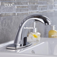 bathroom faucet washers - Fully automatic copper bathroom kitchen basin faucet intelligent touchless inflared sensor taphand washer thick