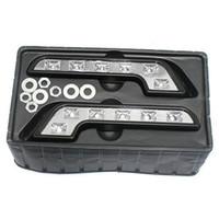 Cheap S9Q 2X Car White LED 12V Daytime Running Lights Fog Lamp Kit Driving Daylight Bulb AAABCP
