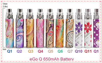 Cheap Popular Colorful Electronic Cigarette EGO-Q ego battery 510 ego thread fit aspire ce5 bdc nautilus nimbus taifun rebuildable atomizer