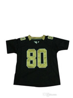 Football Men Short 80 Jimmy Graham Toddler Game Jersey 2013 Brand New Black Infant Outdoor Sports Jerseys High Quality Cheap Baby Football Jerseys Sale