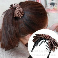 Wholesale 2014 Hot Selling Hair Tire Pony Tails Holder Flowers Little Point Korean Style Multichoice