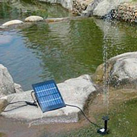 Wholesale 160L H Solar Pool Water Pump Garden Plants Watering Kit Solar Power Pump Fountain Solar Pump Water Pump