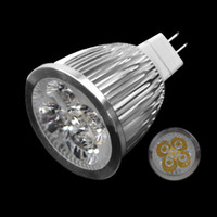 Wholesale Spotlights W LED W Halogen V MR16 Alloy Down Light Bulb For Studio Home Adeal