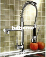 Wholesale pre risen Five Years Quality Assurance pull out spray swivel sink mixer tap Island kitchen faucet